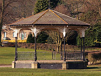 Myrtle Park band stand, Bingley